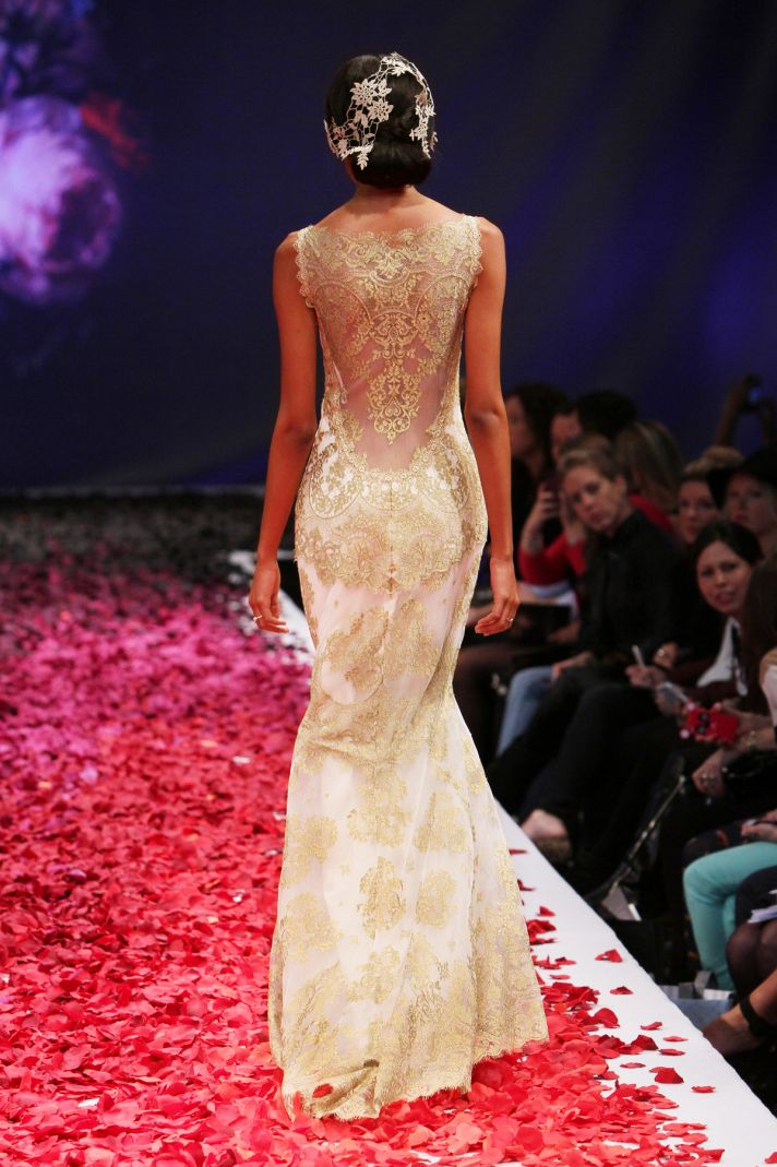 Alchemy wedding dress by Claire Pettibone Still Life 2014 bridal collection