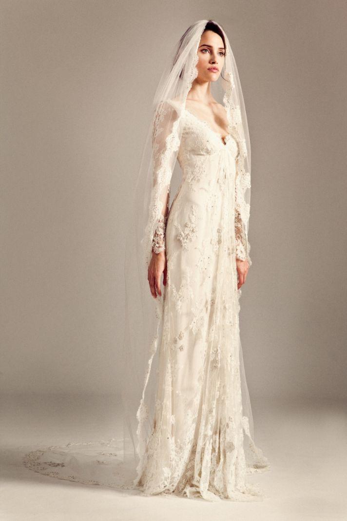 Jessamine wedding dress by Temperley London Fall 2014 bridal