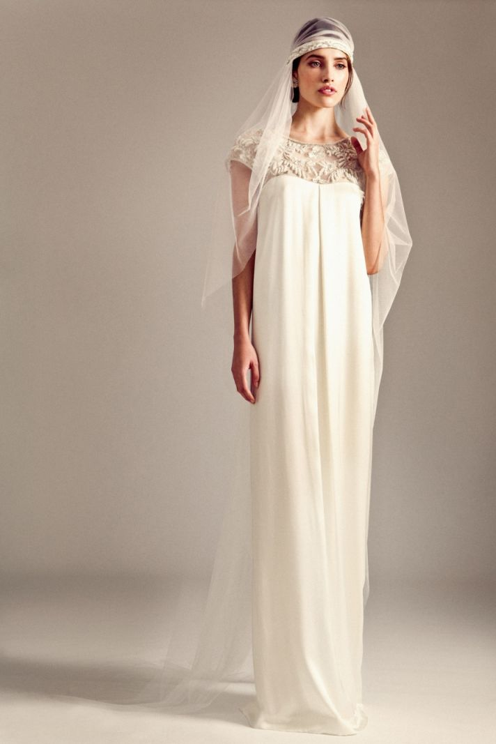 Jemima wedding dress by Temperley London Fall 2014 bridal