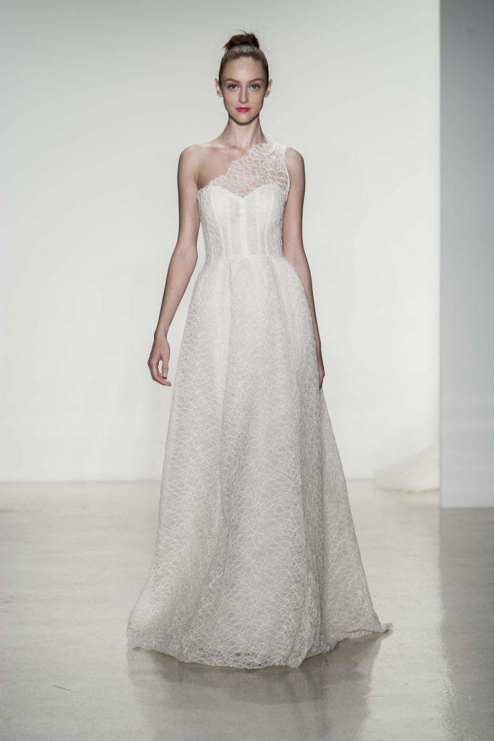 Skylar wedding dress by Amsale Fall 2014 bridal