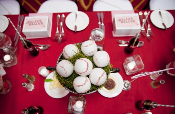 Baseball wedding theme inspiration for the World Series 5