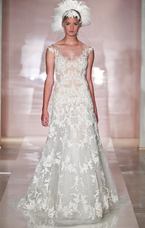 Daria 2 wedding dress by Reem Acra Fall 2014 Bridal