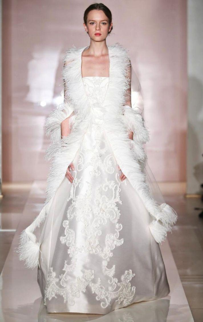 Loni 2 wedding dress by Reem Acra Fall 2014 Bridal
