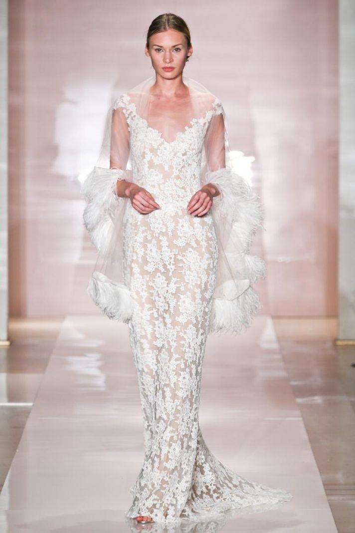 Lexa wedding dress by Reem Acra Fall 2014 Bridal