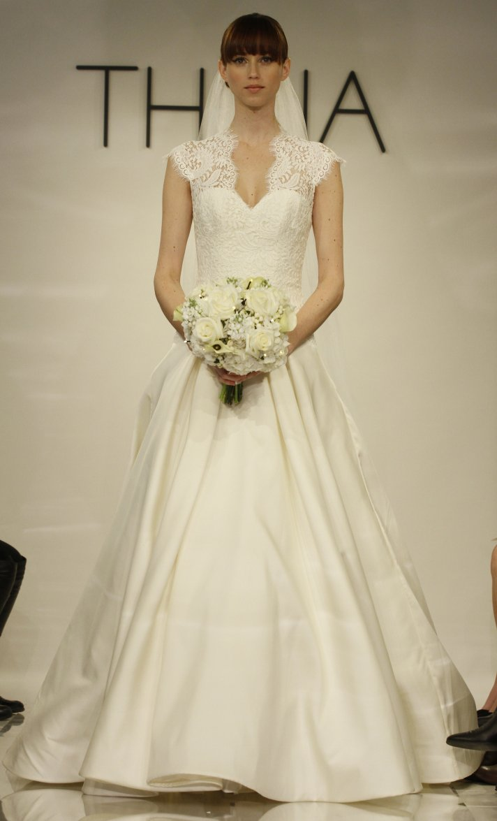 Bernadette wedding dress by Theia Fall 2014 Bridal