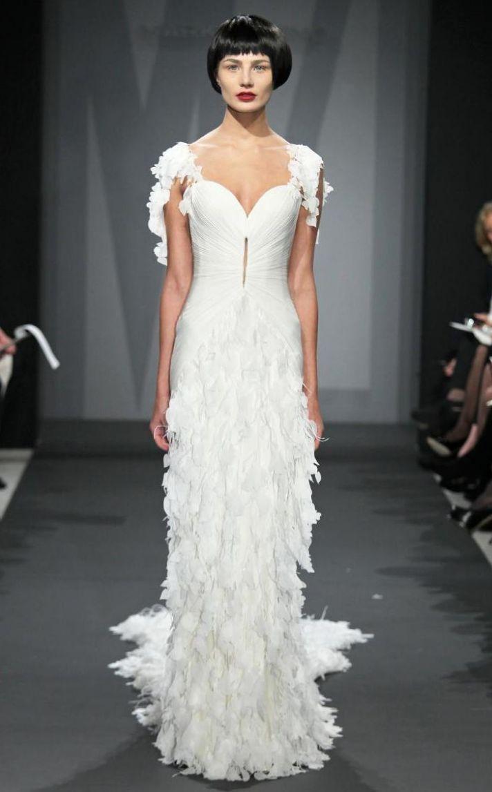 Mark Zunino wedding dress for Kleinfeld Fall 2014 Bridal 7