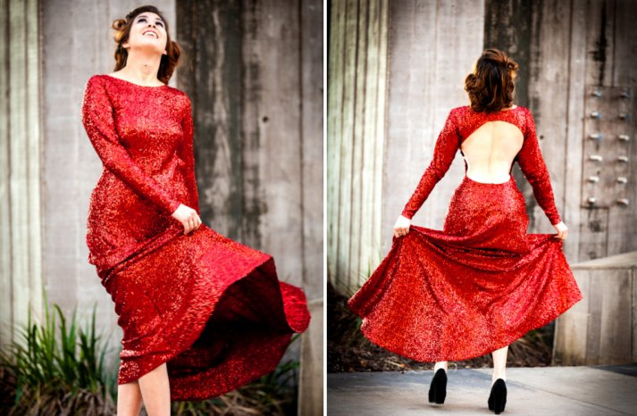 Bridesmaids style Red is the New Black 10
