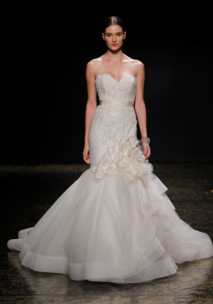 16 Covetable Bridal Gowns From Lazaro Spring 2014