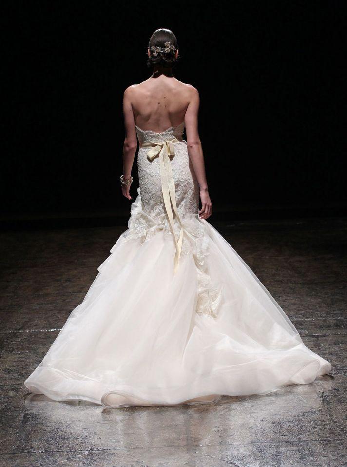 3415 wedding dress by Lazaro Spring 2014 Bridal