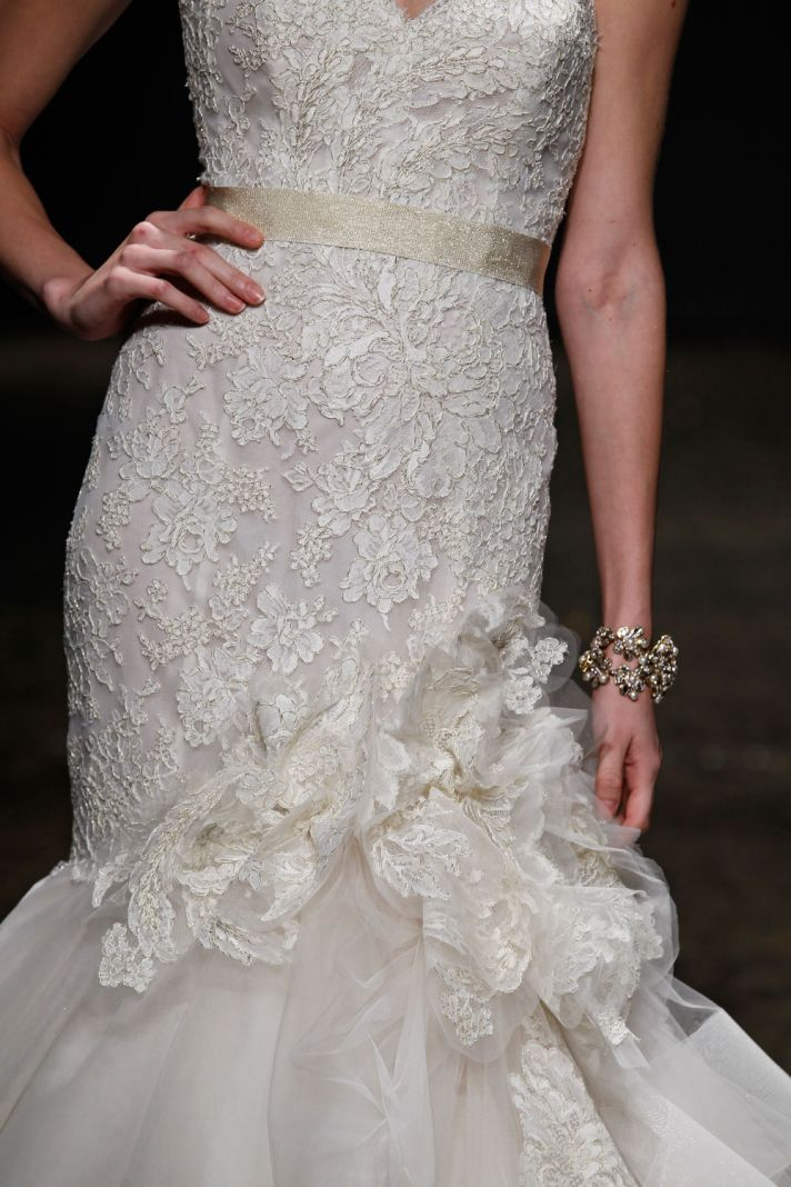 3415 wedding dress by Lazaro Spring 2014 Bridal