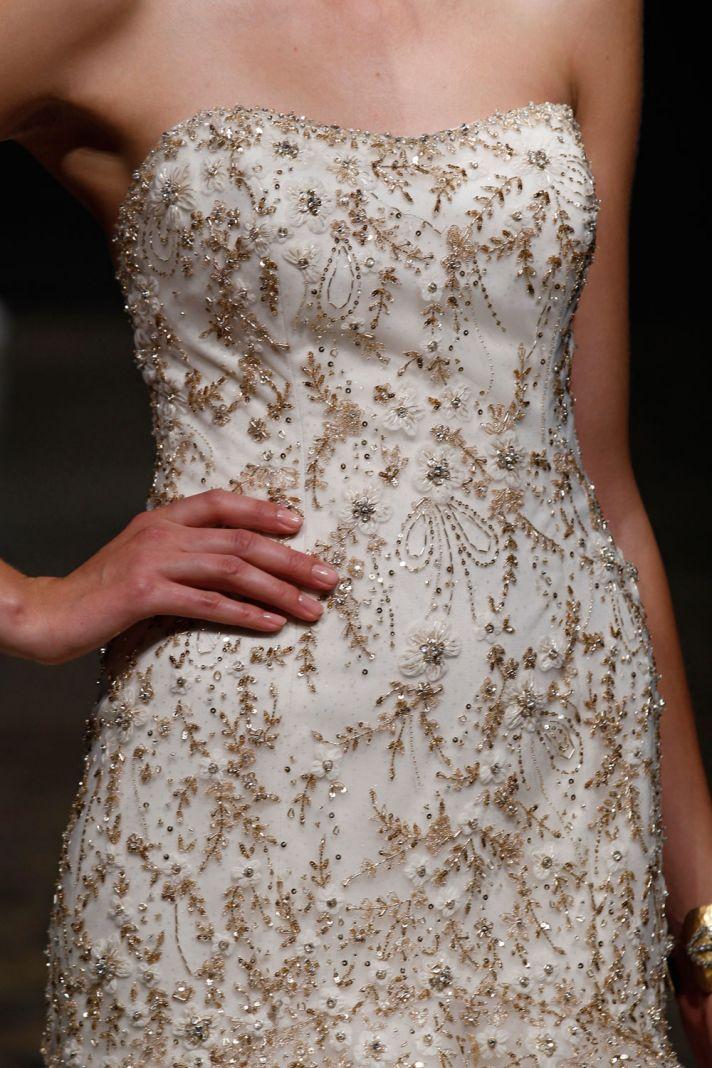3409 wedding dress by Lazaro Spring 2014 Bridal