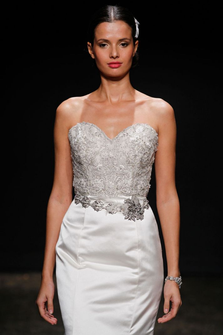 3404 wedding dress by Lazaro Spring 2014 Bridal