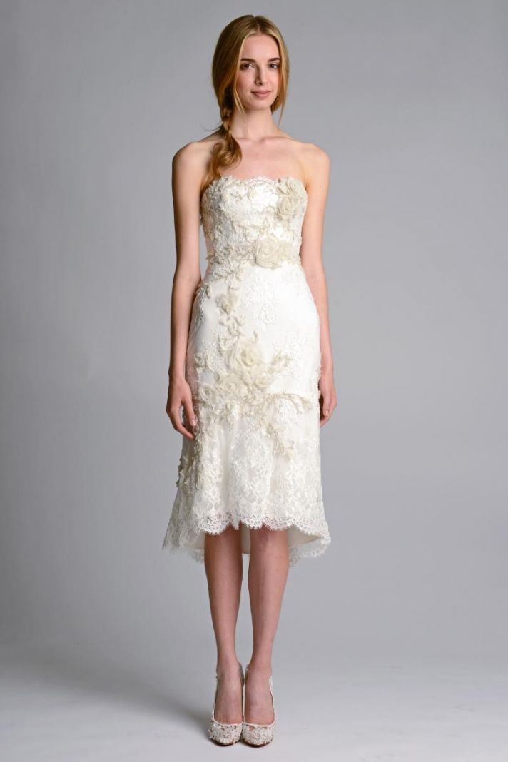 Wedding dress by Marchesa Fall 2014 Bridal 5