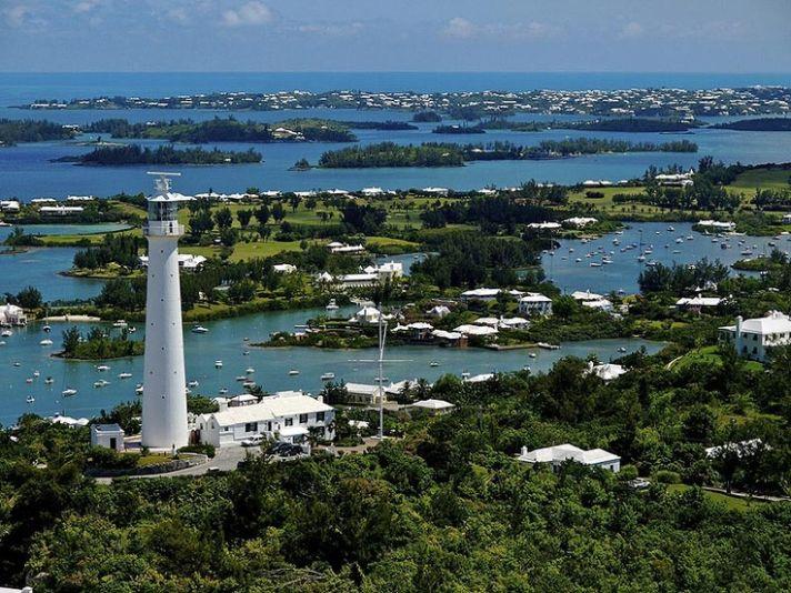 Gibbs Lighthouse in Bermuda