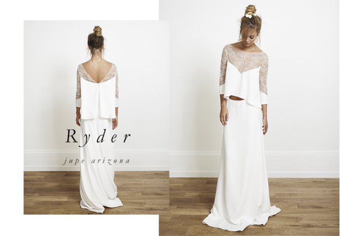 Ryder wedding dress by Rime Arodaky for Alternative Brides