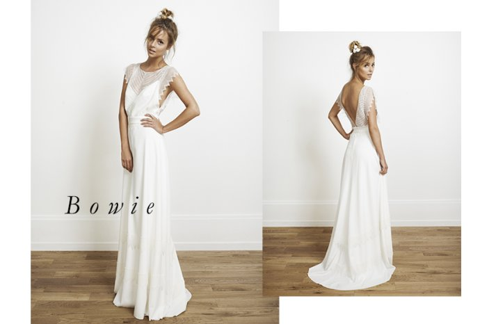 Bowie wedding dress by Rime Arodaky for Alternative Brides