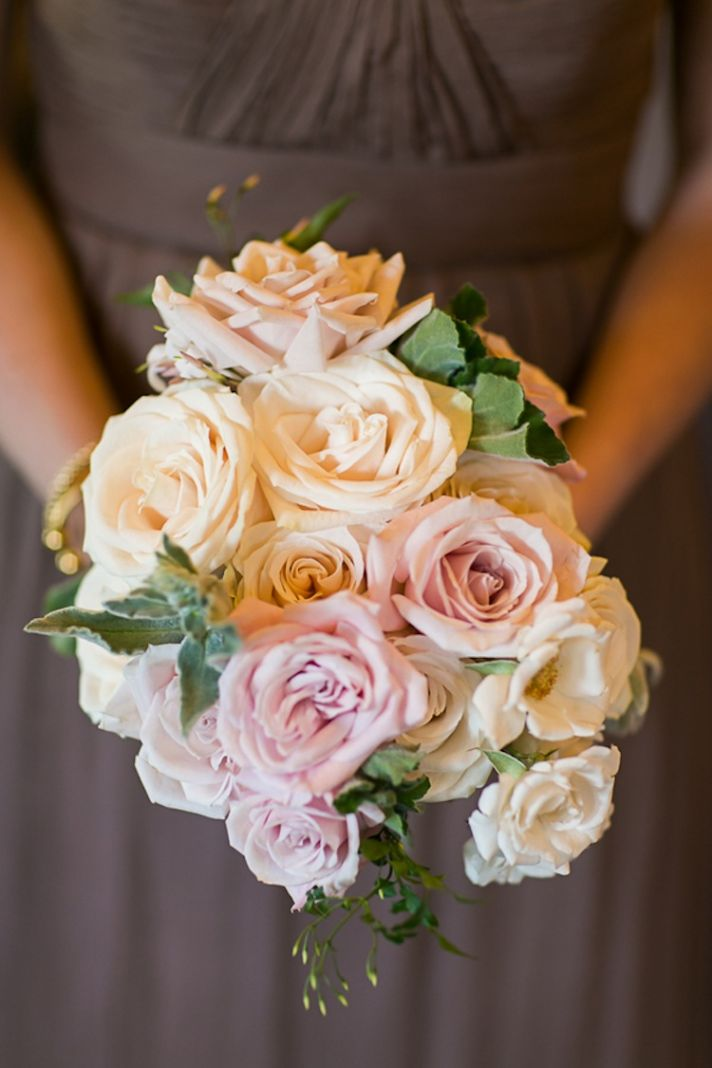 Rose bridesmaids bouquet