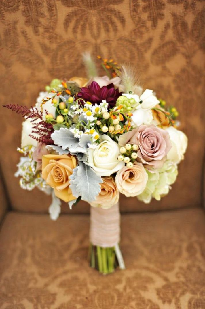 Bridal bouquet aug 2012