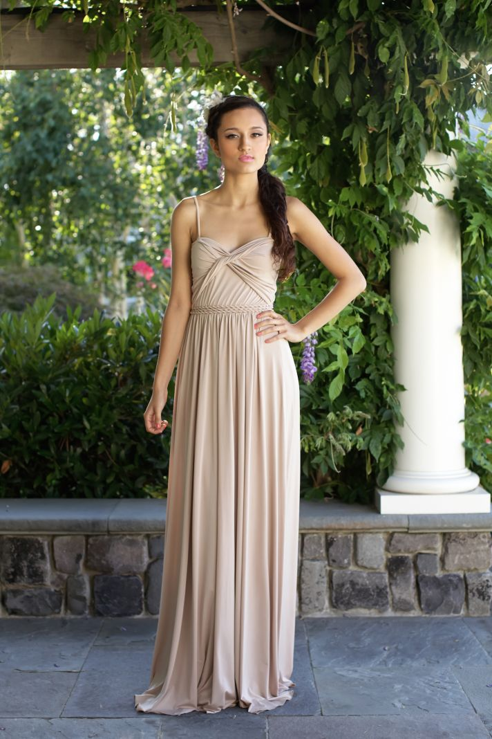 Bridesmaids Dresses Fit For Grecian Goddesses | OneWed
