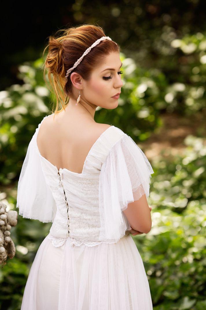 Romantic vintage wedding hair and makeup inspiration
