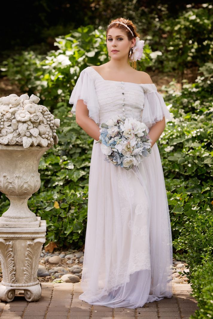 Vintage gown by Amy Jo Tatum