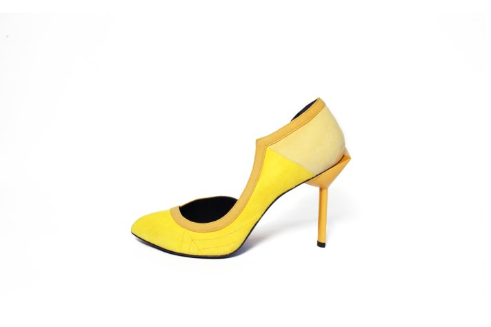Les Nanettes in Yellow from Maison des Talons