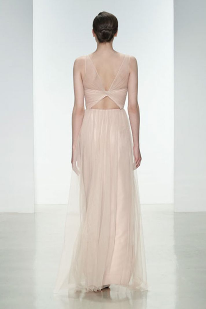 Blush Tulle Back