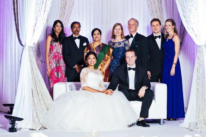 Glamorous Bridal Party