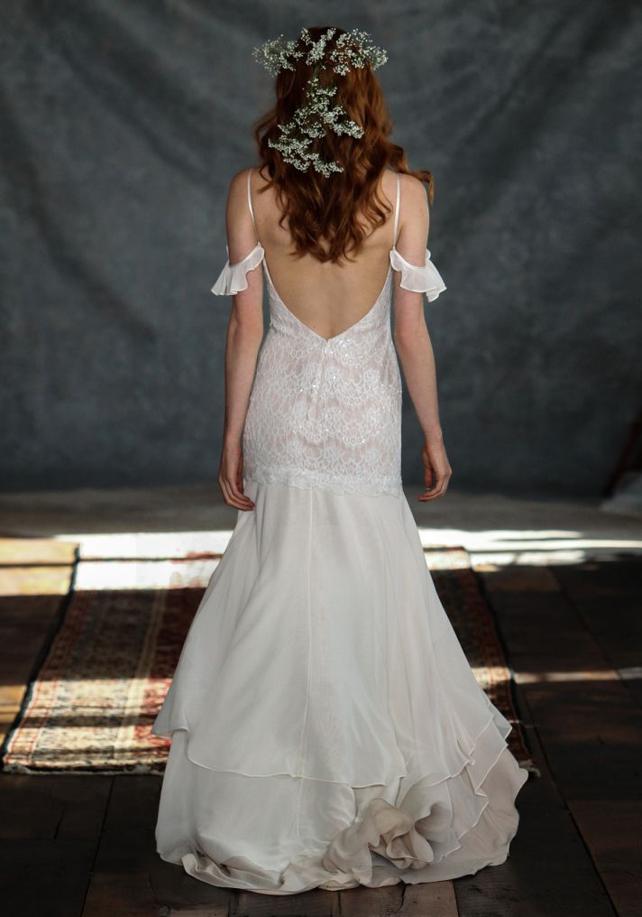 Rhapsody Wedding Dress Back from Claire Pettibone s Romantique Collection