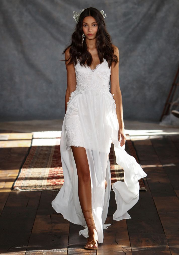 Casablanca Wedding Dress from Claire Pettibone s Romantique Collection
