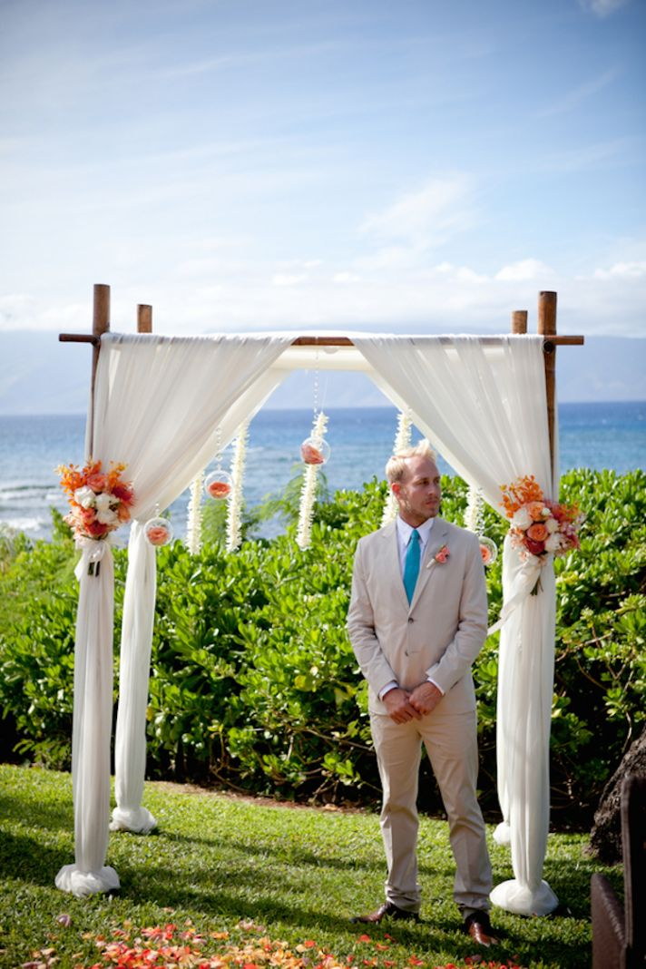 Groom Awaiting His Beautiful Bride