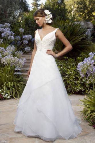 Casablanca Bridal Wedding Dress Style 1989 Dress Onewed