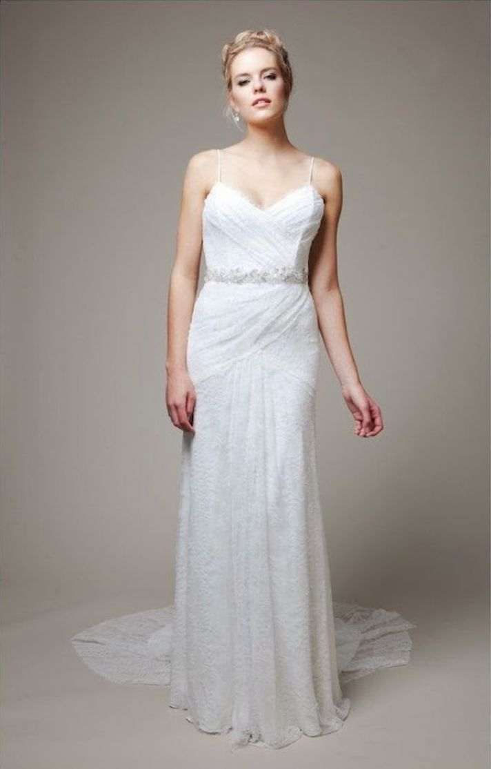 Sultry and Soft Lace Gown