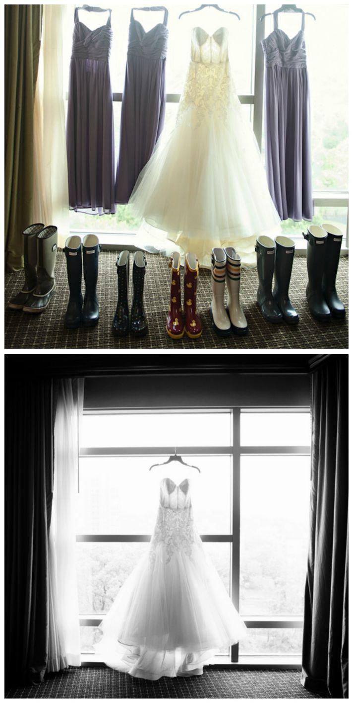 Dresses and Rain Boots