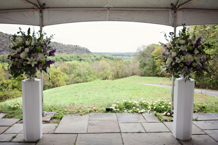 Natural View for a Ceremony Venue