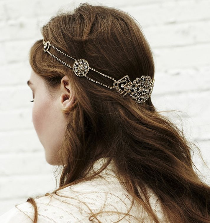 Delicate Halo Head Piece