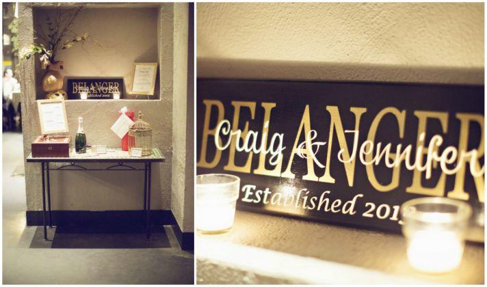 Reception Entry Decor