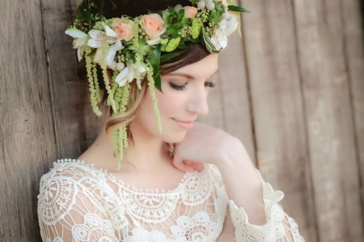 Whimsical Garden Flower Crown