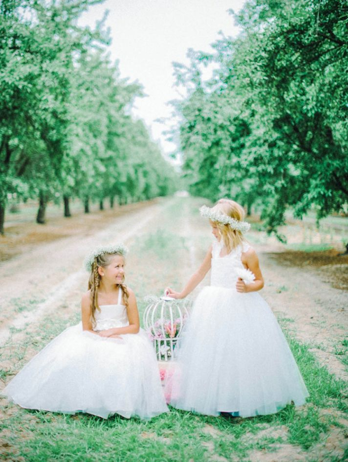 Dreamy Tulle Flower Girl Dresses