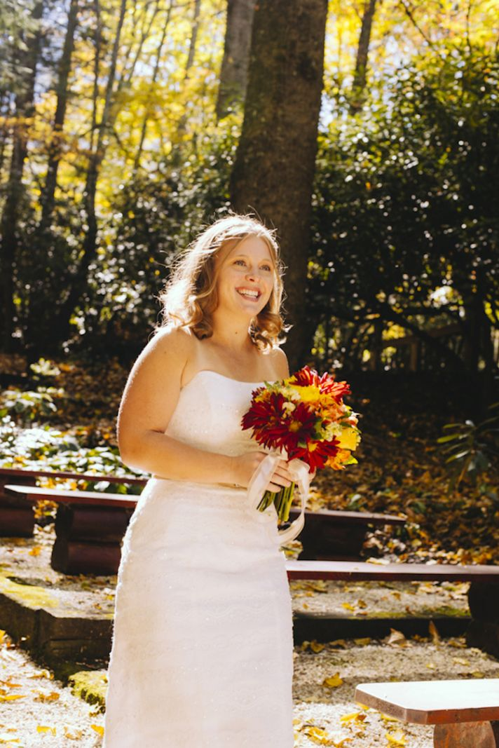 Beautiful Autumn Bride