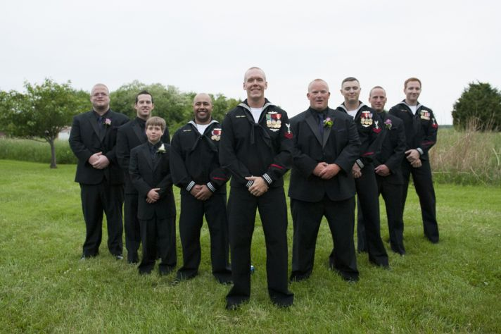 Handome Groomsmen Attire
