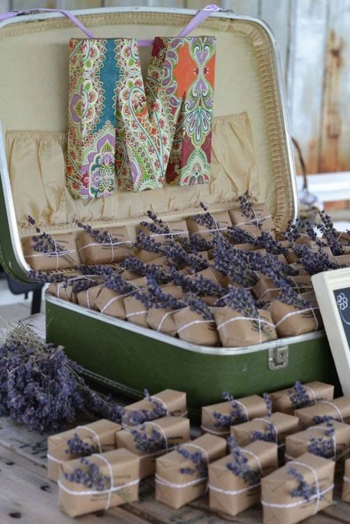 Lavendar Soap for Wedding Favors
