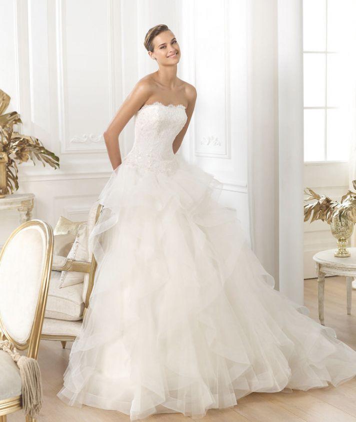 Pronovias 2015 Dream Collection Leante Gown