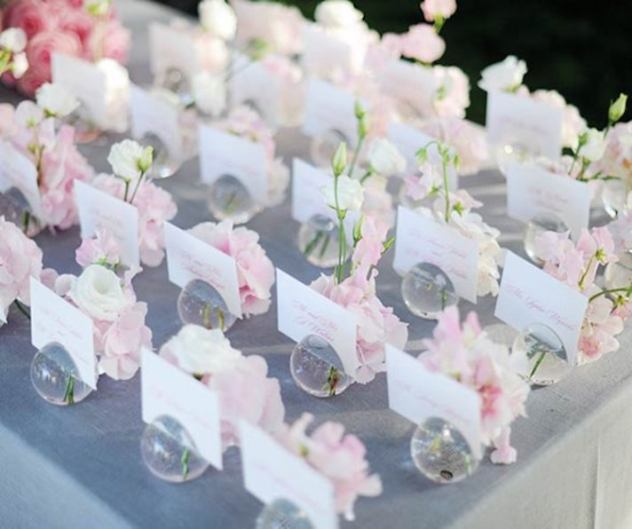 Wedding Place Card Ideas 42 Fresh Sweet and Romantic Escort