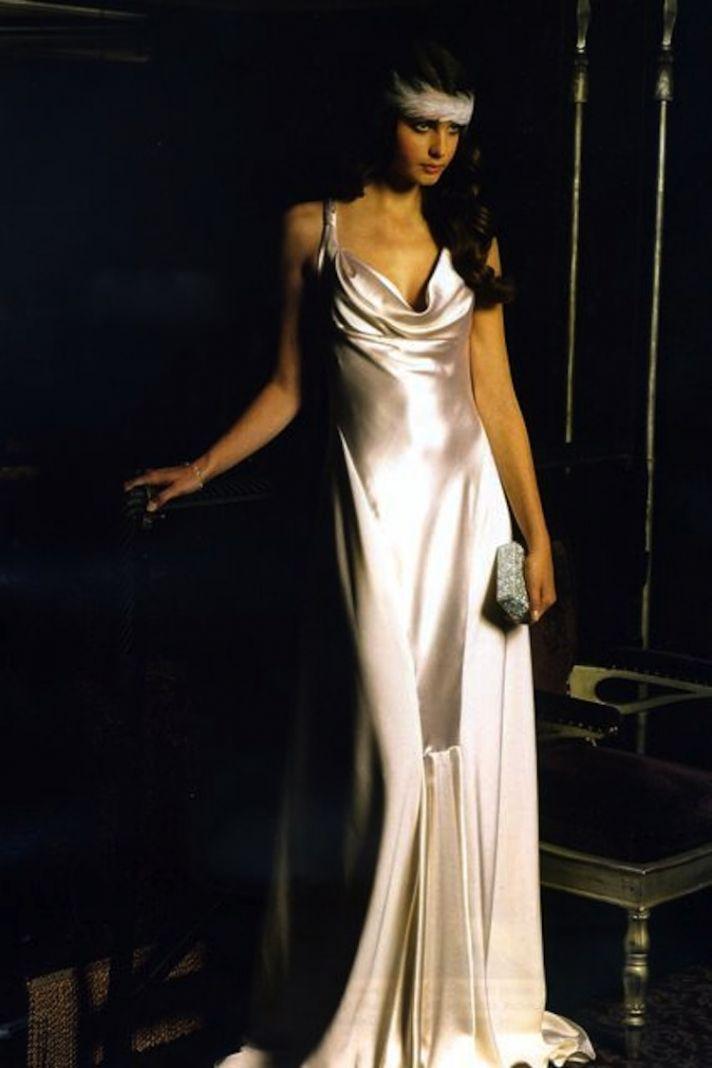 The Liquid Satin Dress