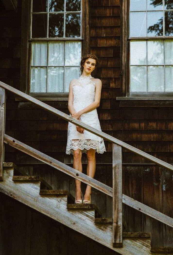 Beautiful Lace Short Dress