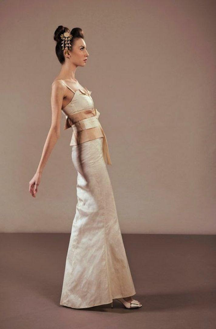 Off White Wedding Dress