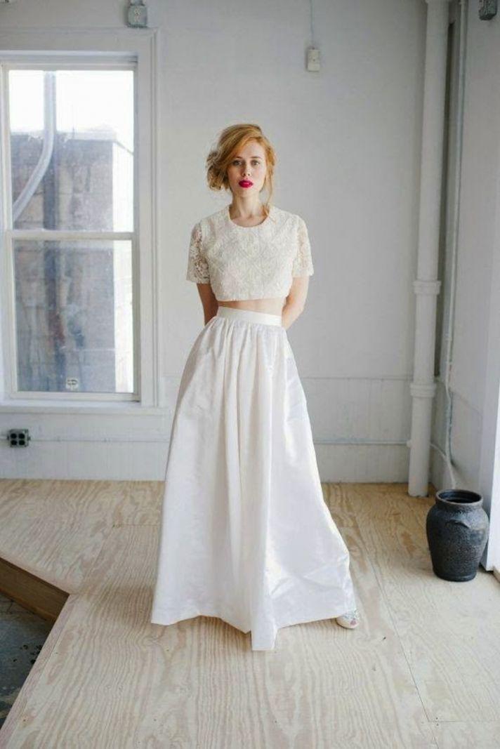 Unique Wedding Gowns 99 Trend Unique Crop Top