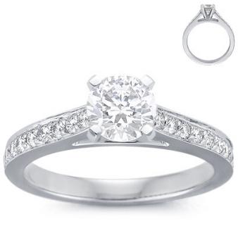 blue nile wedding ring style 5338 ring onewed