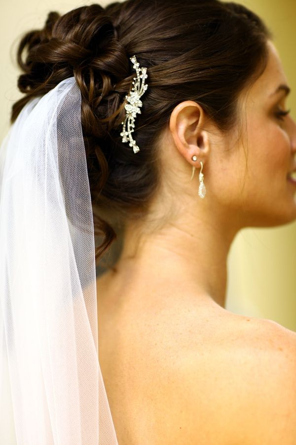 Wedding Hairstyles For Long Hair Pulled To The Side : Wedding updo bridal hairstyles hair style bride